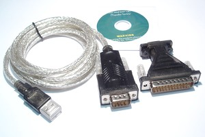 Adaptateur USB - RS232 - 138120