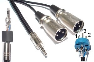 Câble Audio Jack-XLR - 231104
