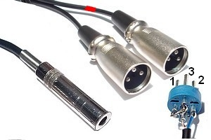 Câble Audio Jack-XLR - 231106