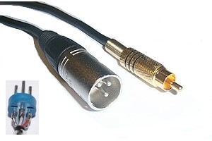 Câble Audio RCA-XLR - 232110