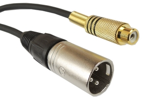 Câble Audio RCA-XLR - 232200